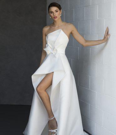 abito sposa modificabile corto lungo